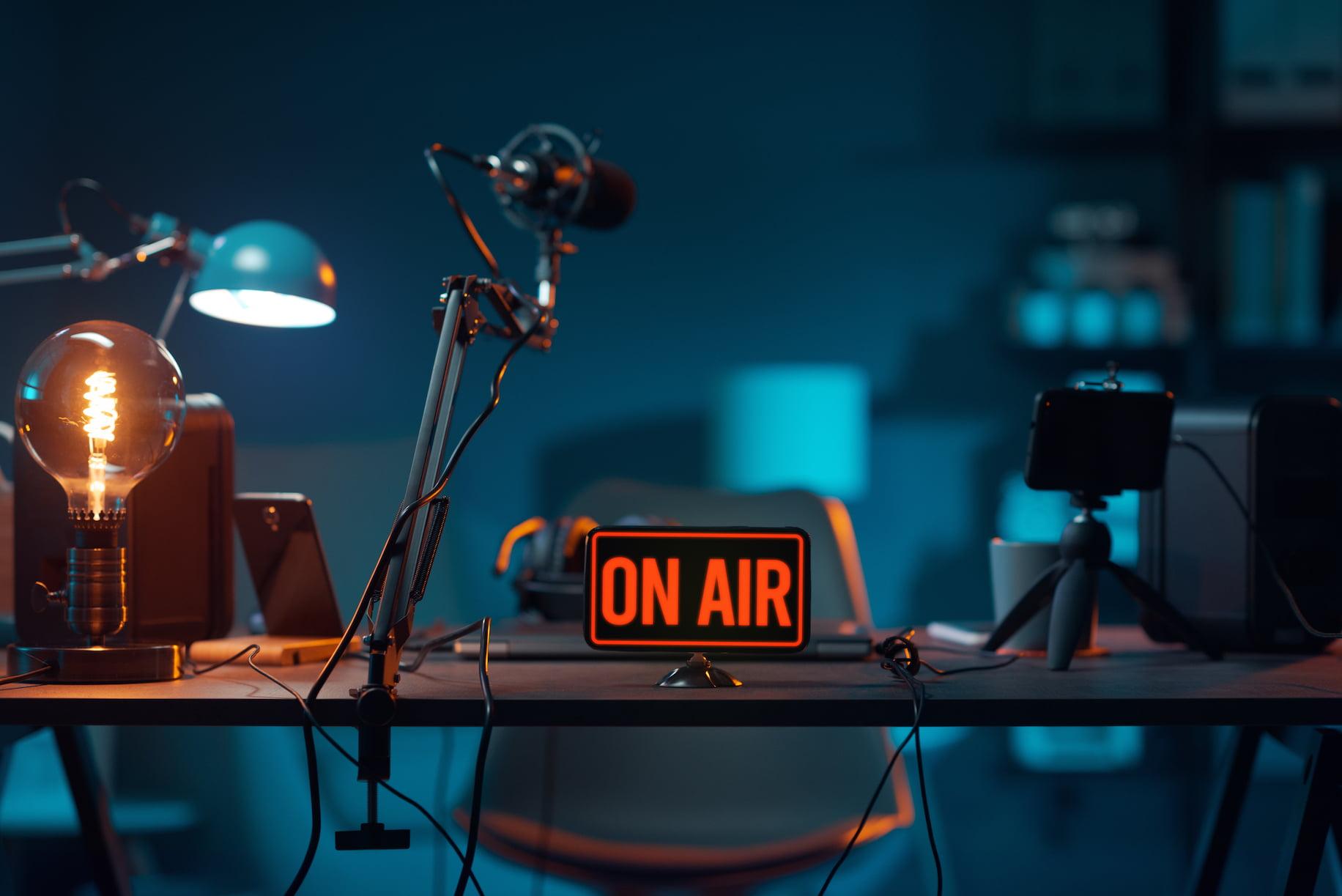 studio on air